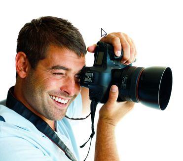 Fotolia Grafik Linkshänder-Kamera